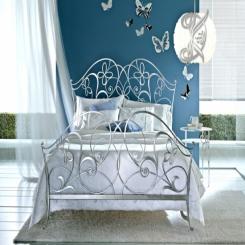 Кованая кровать двуспальная КК 1