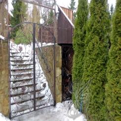Кованые ворота распашные КВ 116