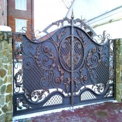 Кованые ворота КВ 27