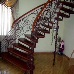 Кованые лестницы КЛ 51
