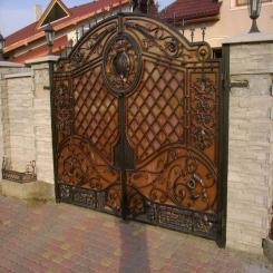 Кованые ворота КВ 28