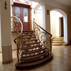 Кованые лестницы КЛ 52