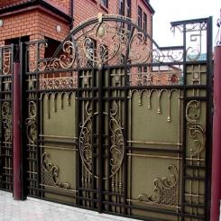 Кованые ворота КВ 29