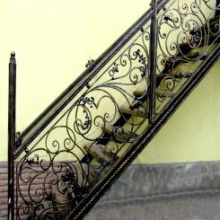 Кованые лестницы КЛ 54