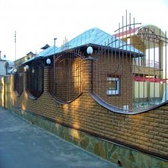 Кованый забор КЗ 31