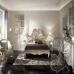 Кованая кровать прованс КК 16