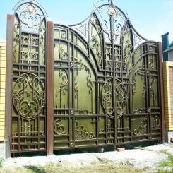 Кованые ворота КВ 30