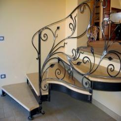 Кованые лестницы КЛ 55