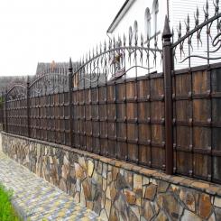 Кованый забор КЗ 32