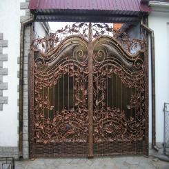 Кованые ворота КВ 31