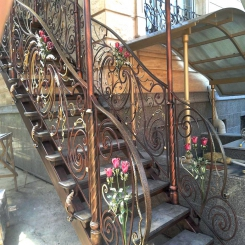 Кованые лестницы КЛ 56