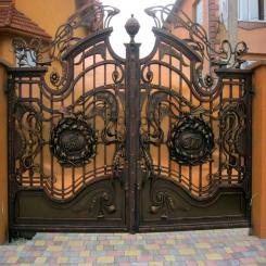 Кованые ворота КВ 32
