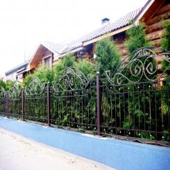 Кованый забор КЗ 34