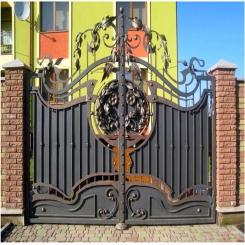 Кованые ворота КВ 33