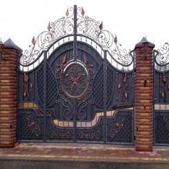 Кованые ворота КВ 34