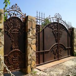 Кованые ворота КВ 18
