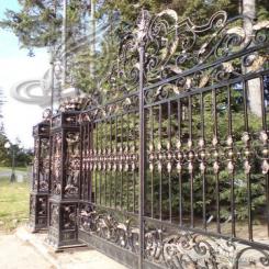 Кованые ворота КВ 2