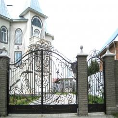 Кованые ворота КВ 15