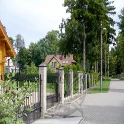 Кованый забор КЗ 6