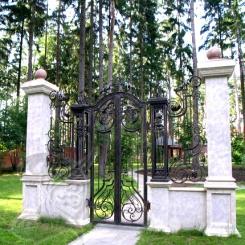 Кованые ворота КВ 7
