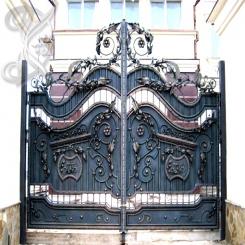 Кованые ворота КВ 5
