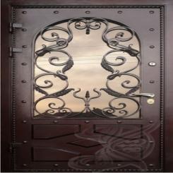 Кованая дверь КД 4