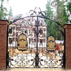 Кованые ворота КВ 4