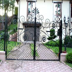 Кованые ворота КВ 16