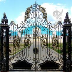 Кованые ворота КВ 1
