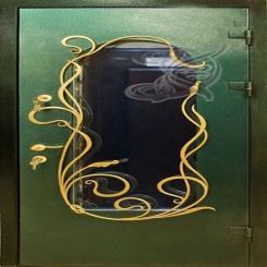 Кованая дверь КД 6