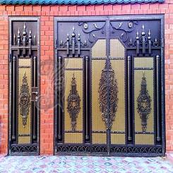 Кованые ворота КВ 10