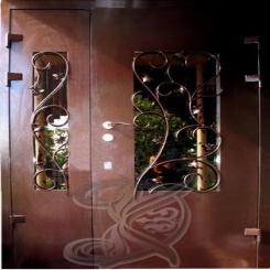 Кованая дверь КД 3