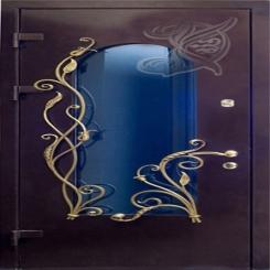Кованая дверь КД 1