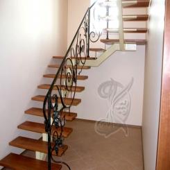 Кованая лестница КЛ 2