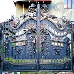 Кованые ворота КВ 9