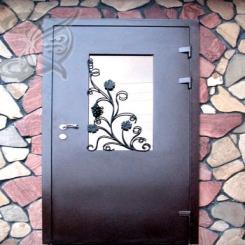 Кованая дверь КД 2