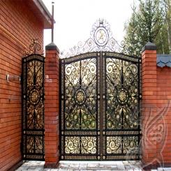 Кованые ворота КВ 17