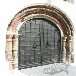 Кованые ворота КВ 6