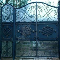 Кованые ворота КВ 8