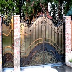 Кованые ворота КВ 3