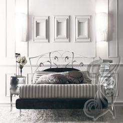 Кованая кровать лилия КК 22
