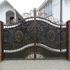 Кованые ворота КВ 36