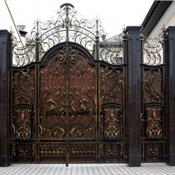 Кованые ворота КВ 37