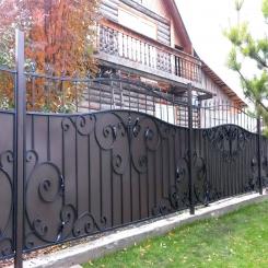 Кованый забор КЗ 39