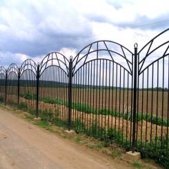 Кованый забор КЗ 42