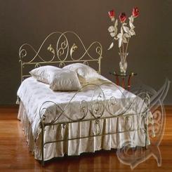 """Кованая кровать """"Элитная"""" КК 28"""