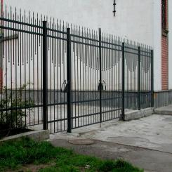 Кованый забор КЗ 45
