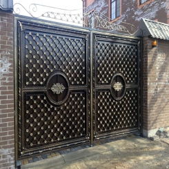 Кованые ворота КВ 45