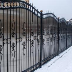 Кованый забор КЗ 47