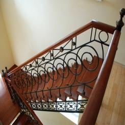 Кованые лестницы КЛ 43